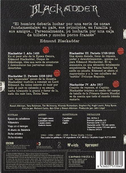 Amazon.com: La Víbora Negra (Ed. Coleccionista) (Black Adder)(1983, 1989)(Import Movie) (European Format - Zone 2): Tony Robindon, Brian Blessed.