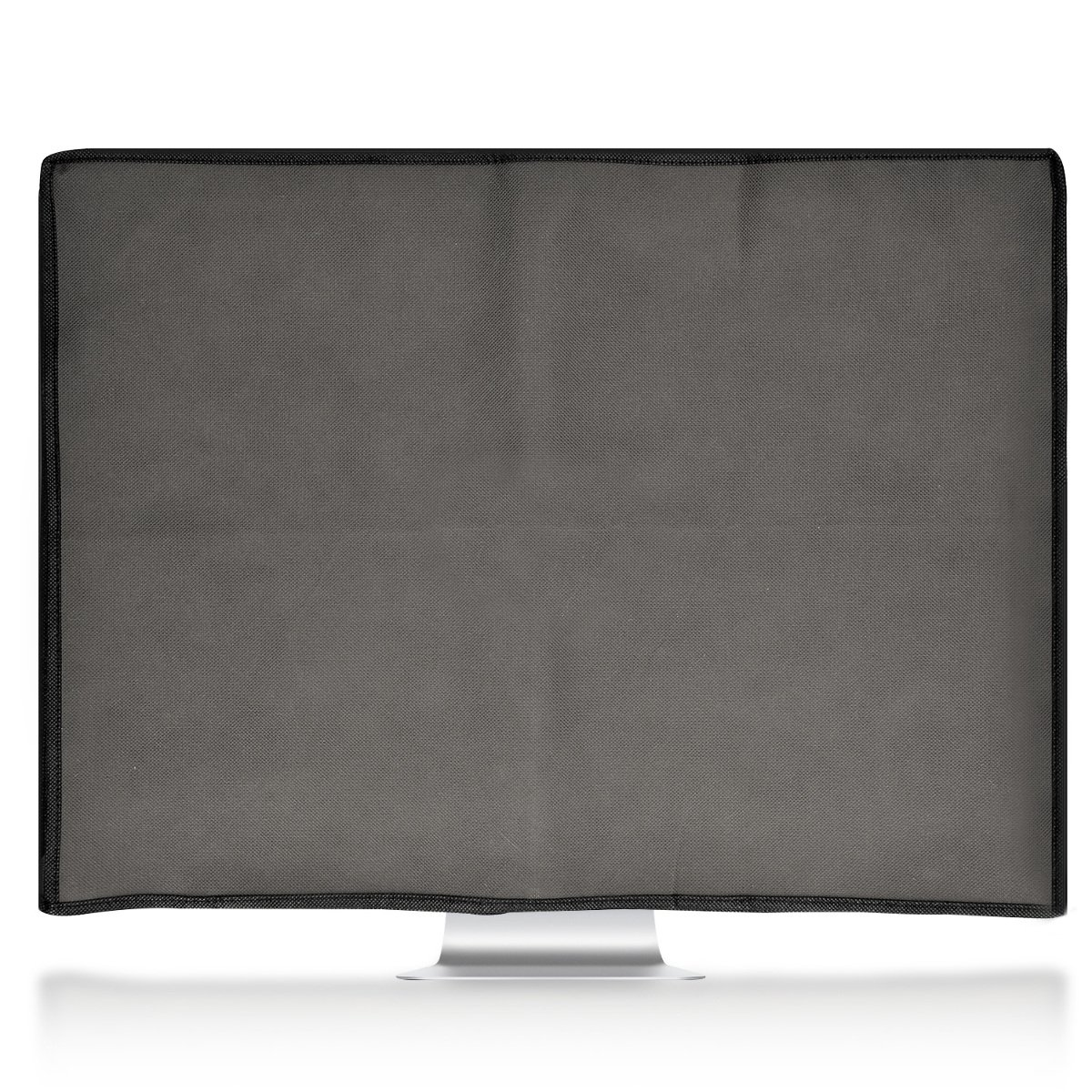 Dark Grey kwmobile Monitor Cover for 20-22 Monitor Dust Cover PC Monitor Case Screen Display Protector