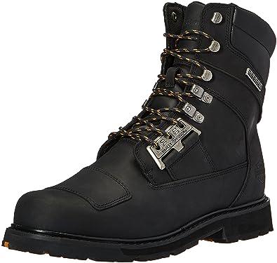 Harley-Davidson Men's coulter Work Boot, Black/Black, ...