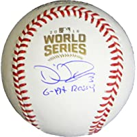 $199 » David Ross Signed Rawlings Official 2016 World Series MLB Baseball w/G-Pa Rossy - Schwartz Authentic