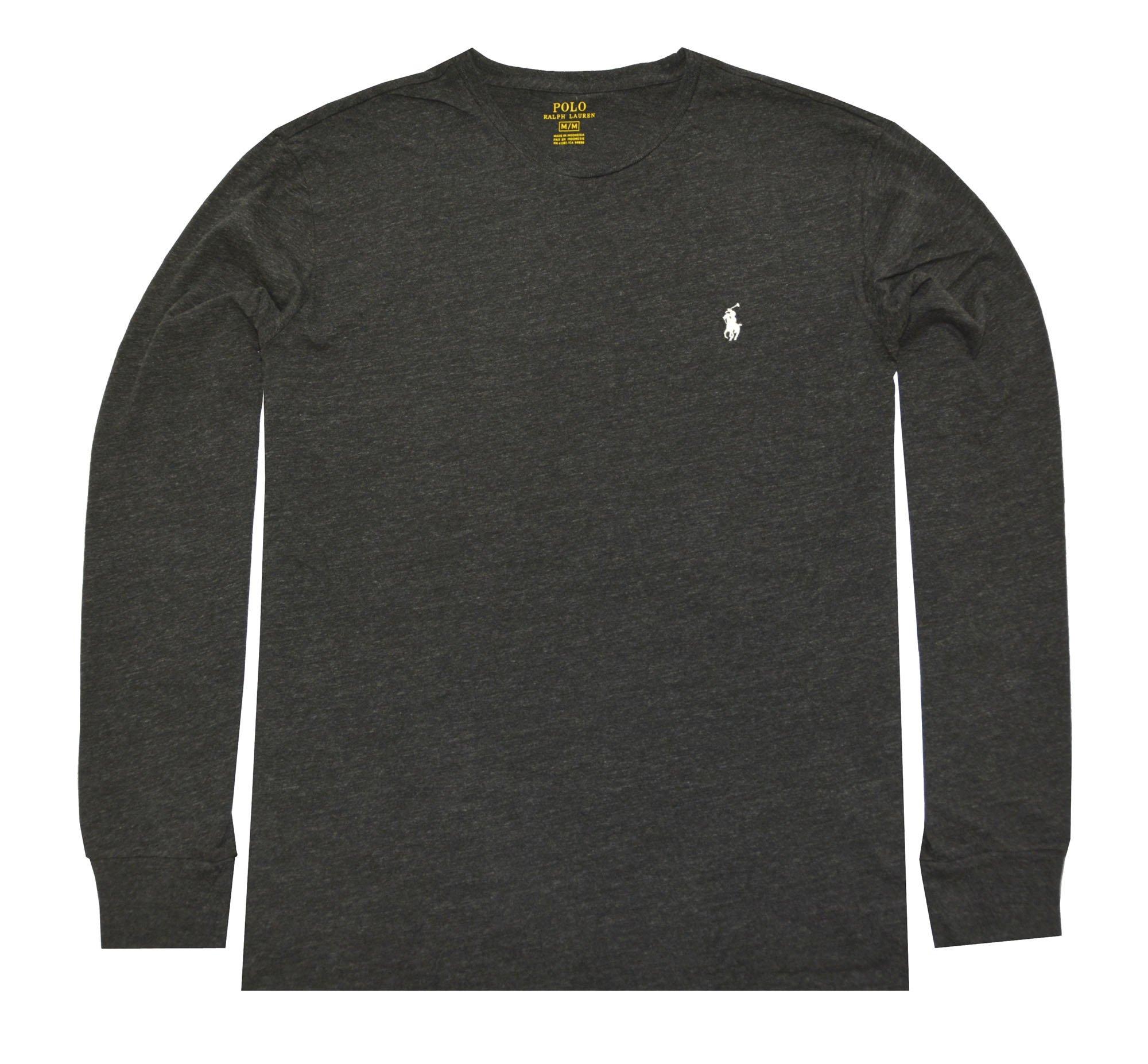 Polo Ralph Lauren Men's Long Sleeve Pony Logo T-Shirt - X-Large - Black Charcoal