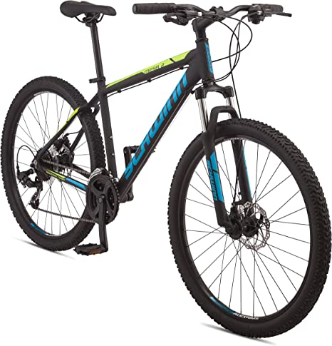 Schwinn Mesa Adult Mountain Bike, 21-24 Speeds, 27.5-Inch Wheels, Small to X-Large Aluminum Frame, Multiple Colors