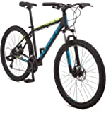 Schwinn Mesa Adult Mountain Bike, 21-24 Speeds, 27.5-Inch Wheels, Small to X-Large Aluminum Frame, Multiple Colors