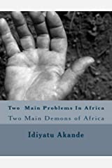 Two Main Problems in Africa Kindle Edition