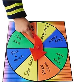 amazon com 12 inch dry erase spinning prize wheel casino prize
