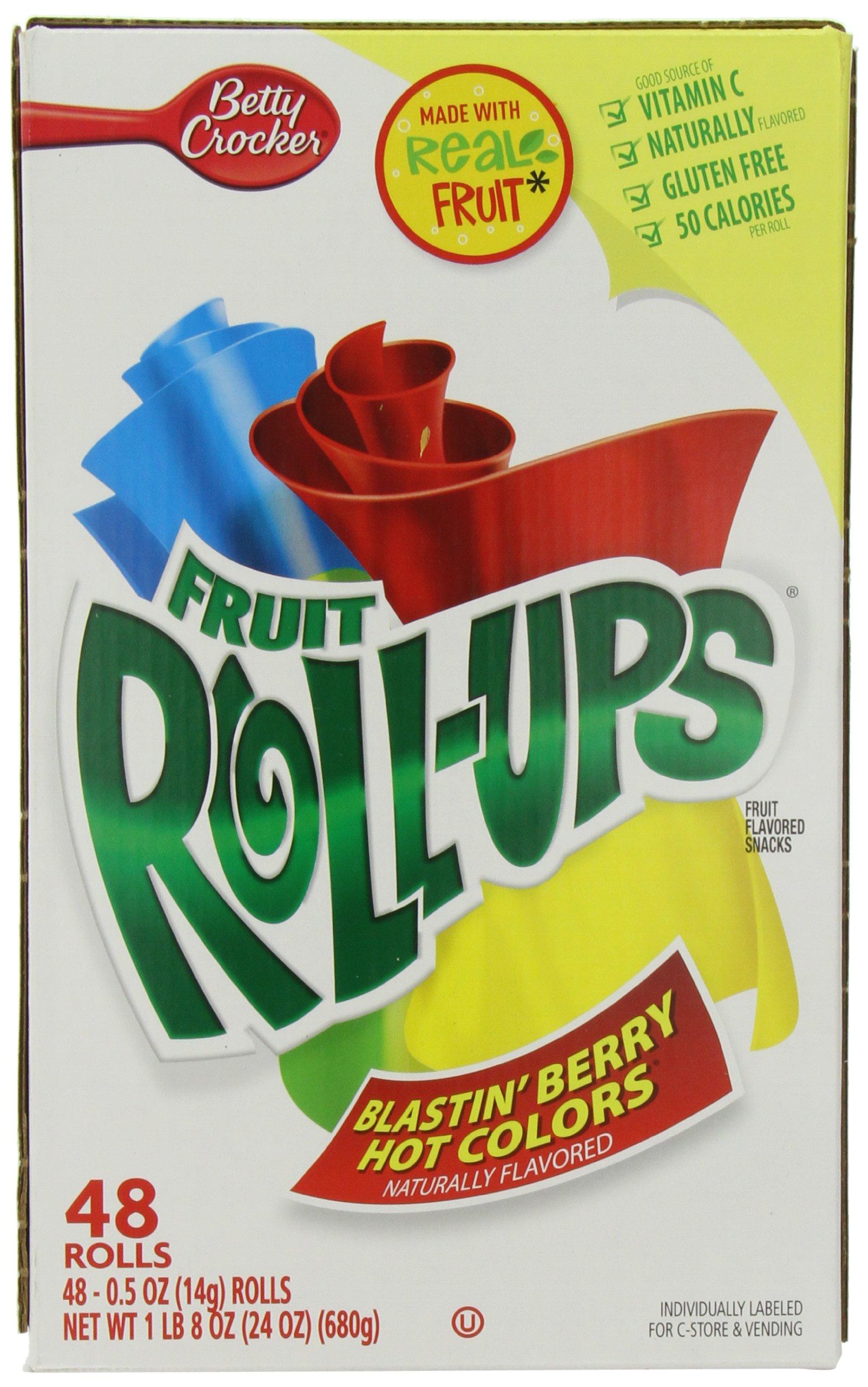 Betty Crocker General Mills Fruit Roll Ups, 48 Count