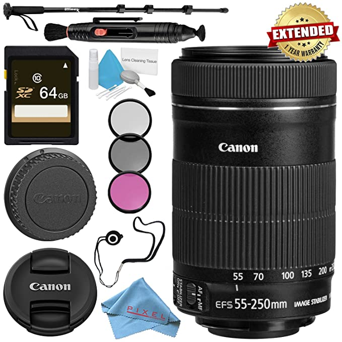 Review Canon EF-S 55-250mm Lens
