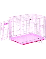 Precision 1129-11332FD 24x18x19-Inch Two Door ProValu2 Crate Cargo Kennel, Pink