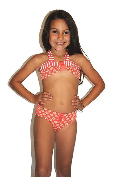 Amazon.com: Agatha Ruiz de la Prada Flor Bikini De Rayas, 14 ...