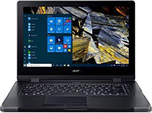 "Acer Enduro N3 EN314-51W-53RR Rugged Laptop, 14"" Full HD IPS, 10th Gen Intel Core i5-10210U, 8GB DDR4, 256GB NVMe SSD, Intel Wireless Wi-Fi 6, Fingerprint Reader, Windows 10 Professional"