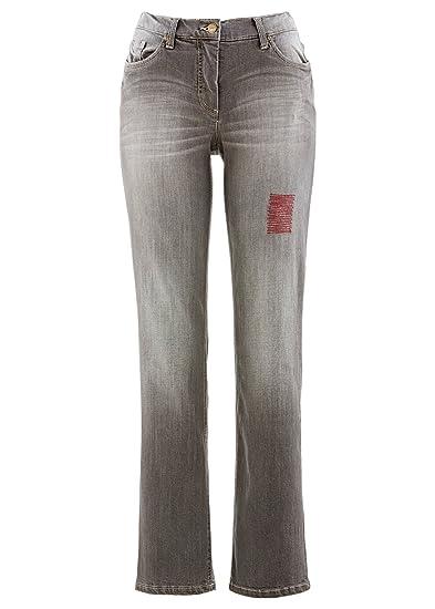 bpc bonprix collection - Jeans - Femme gris Medium Grey Denim - gris - W38 1d7408827cad