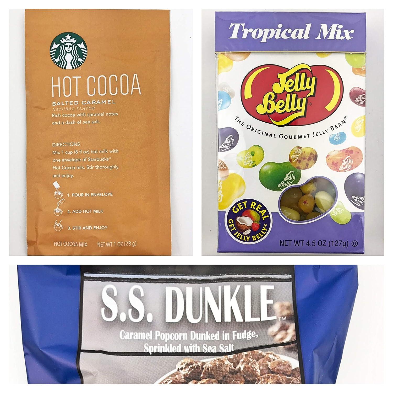 Amazon.com : Feliz Navidad Christmas Gift Box Basket for the Holidays - Delicious Truffles, Peanut Brittle, Spicy Tea, Caramel Hot Cocoa, Dulce de Leche Dip ...