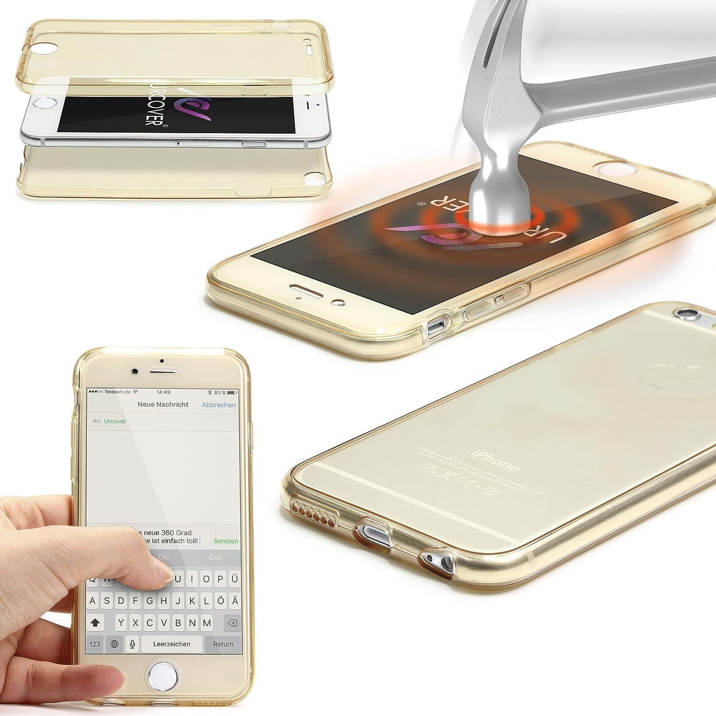 Urcover® LG G4   Funda Carcasa 360 Grados Ultra Slim Metálico   TPU en Oro Rosa   Case Cover Protección Completa Smartphone Móvil Accesorio: Amazon.es: Electrónica