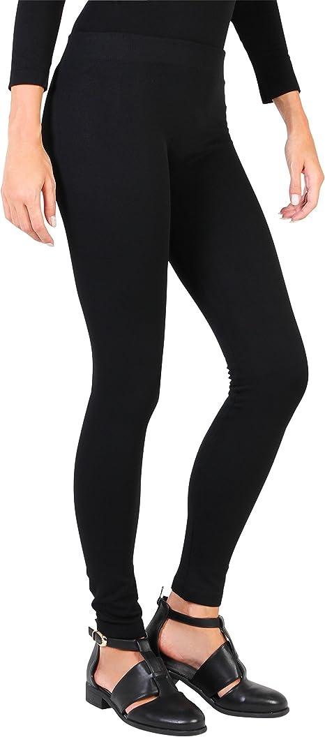 New Ladies Women Warm Winter Tummy Control Thick Fleece Thermal Legging UK Seler