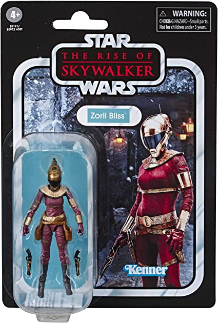 Amazon Com Star Wars The Vintage Collection The Rise Of Skywalker Zorii Bliss Toy 3 75 Scale Action Figure For Kids Ages 4 Up Toys Games