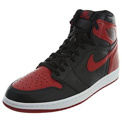 new style 967b3 87cba Nike Air Jordan 1 Retro High OG, Men s Basketball, Black (Black   Varsity