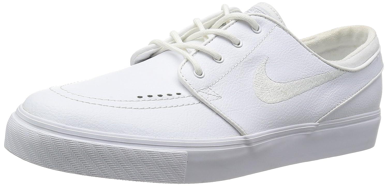 Nike Air Zoom Stefan Janoski L Schuhe Herren Sneaker Sportschuhe Schwarz 616490 016  45 EU|Wei? (White)