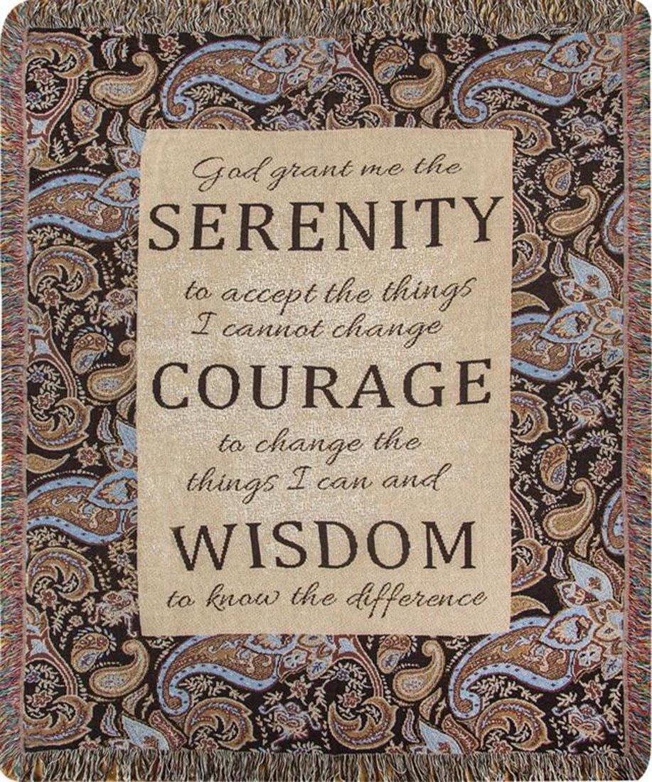 Serenity - 50 X 60 Tapestry Throw B01HL5535I
