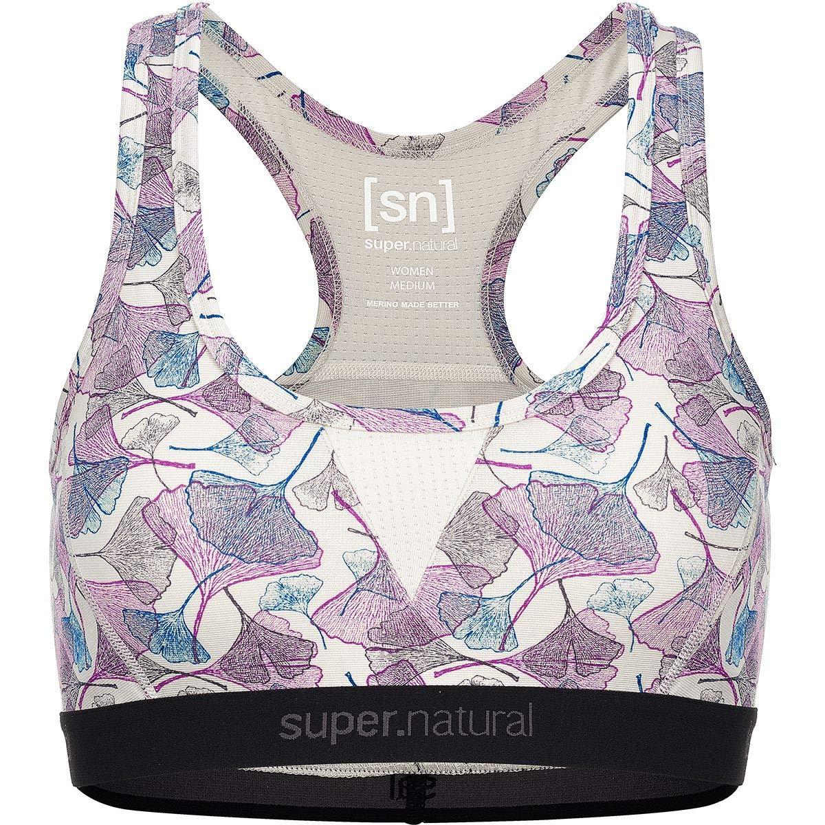 Super.natural Damen Sport-BH, Mit Merinowolle, W SEMPLICE BRA 260