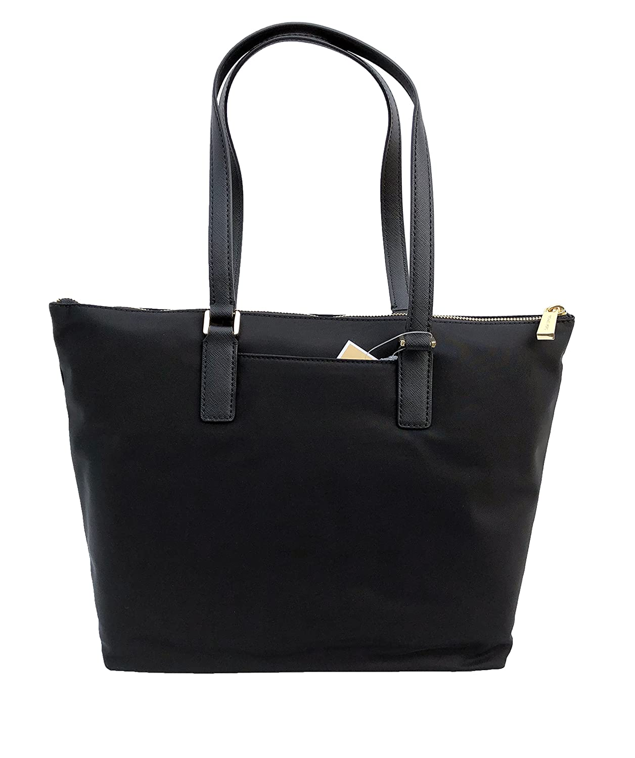 23bb97d02184 Amazon.com: MICHAEL Michael Kors Ariana North/South Large Nylon with  Leather Trim Tote (Black): Shoes