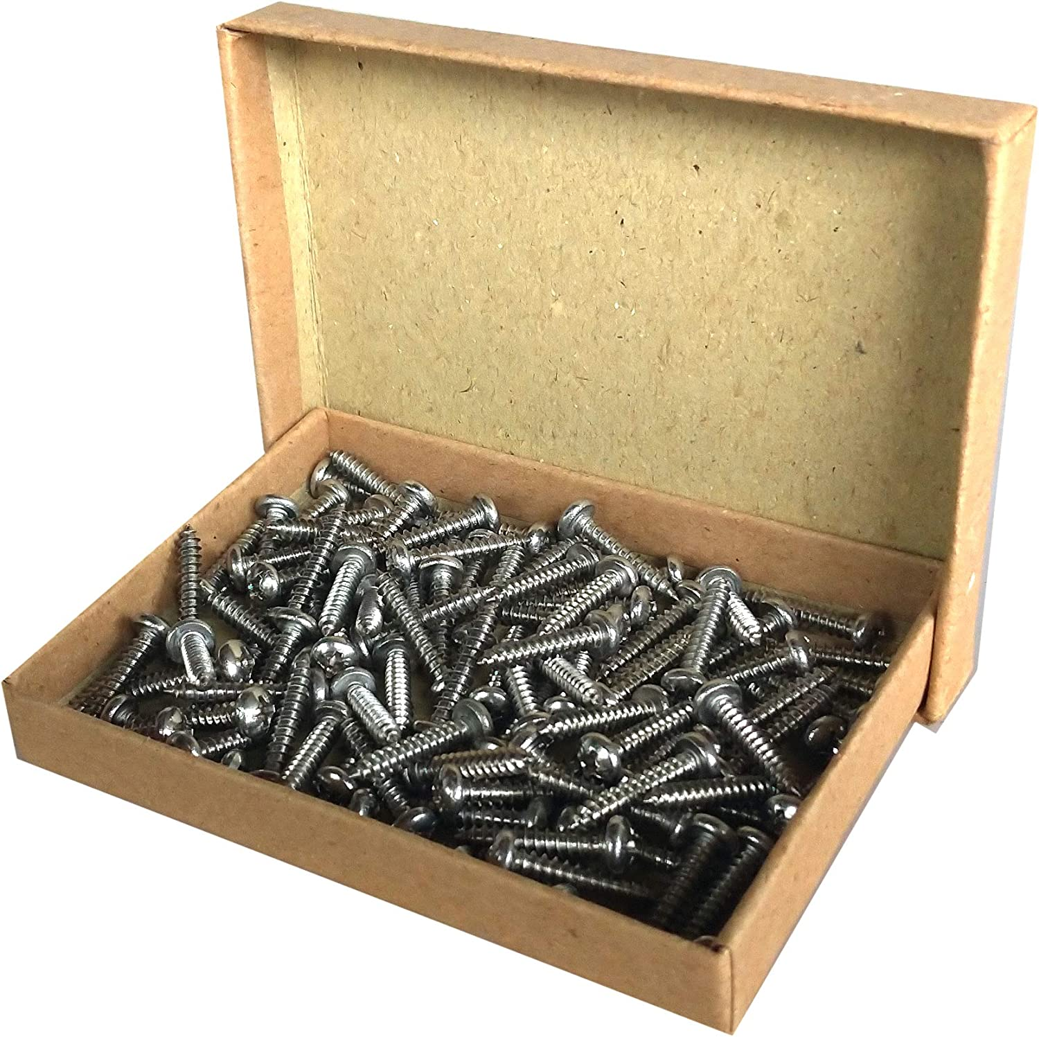 3//4 inch Phillips No.6 Round Head Stainless Steel Screws