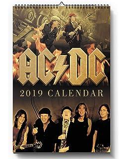 AC/DC calendario 2015 + Ac/Dc llavero: Amazon.es: Oficina y ...