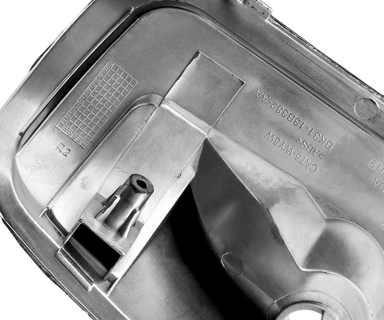 Creative-Idea Right Side Wing Mirror Indicator Cover White 1847389
