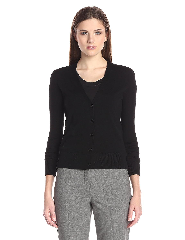 Amazon.com: Theory Women's Cardigan Merino Wool Sweater: Clothing