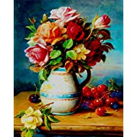 Diamond Painting Kit, Full Drill Diamond Embroidery Painting Wall Sticker for Home Wall Decor