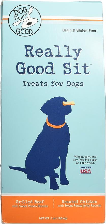 Perro es Buena Realmente Good Sit Treats Gift Pack Juguete: Amazon.es: Productos para mascotas