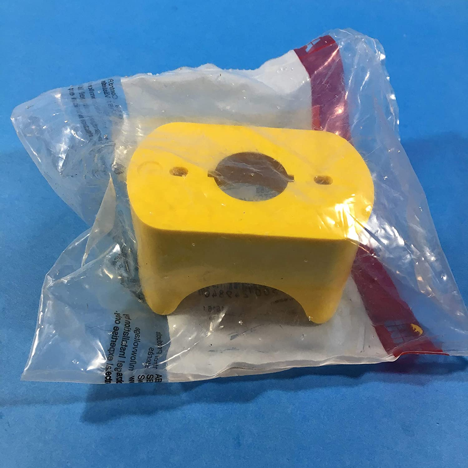 ABB KA1-8053 Emergency Stop Shroud, For Use With Pushbuttons ...