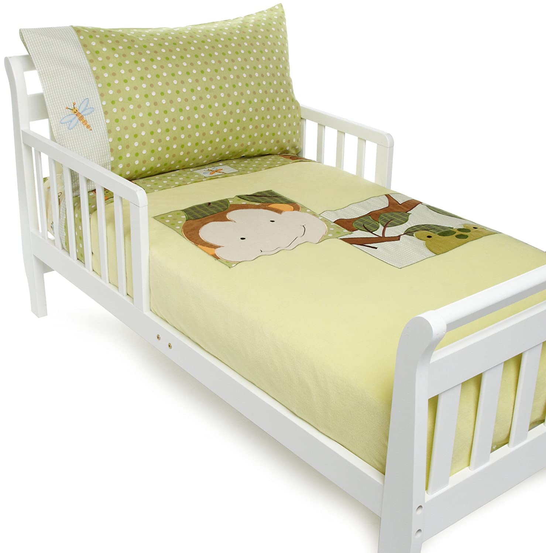 Amazon.com : Lambs & Ivy Papagayo Toddler Set, Green (Discontinued ...