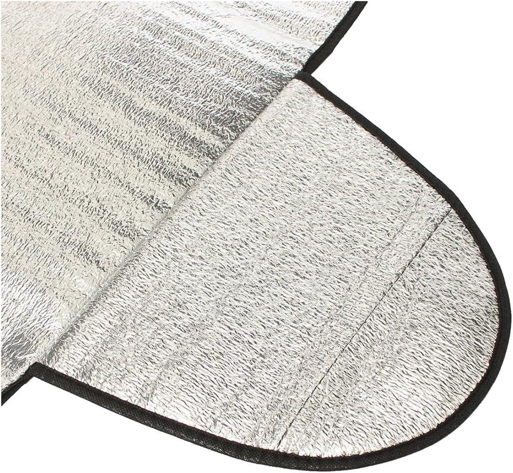 Tmand 150 X 70CM Protezione Parabrezza per Auto Contro La Polvere di Ghiaccio Copertura Anti-Calore per Scudo Termico