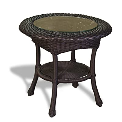 Tortuga Lexington Outdoor End Table in Tortoise