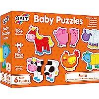 Galt Baby Puzzles - Farm - 2pcs