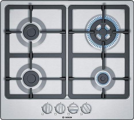 Bosch PGH6B5B90 VITROCERAMICAS, 1000 W, Acero Inoxidable ...