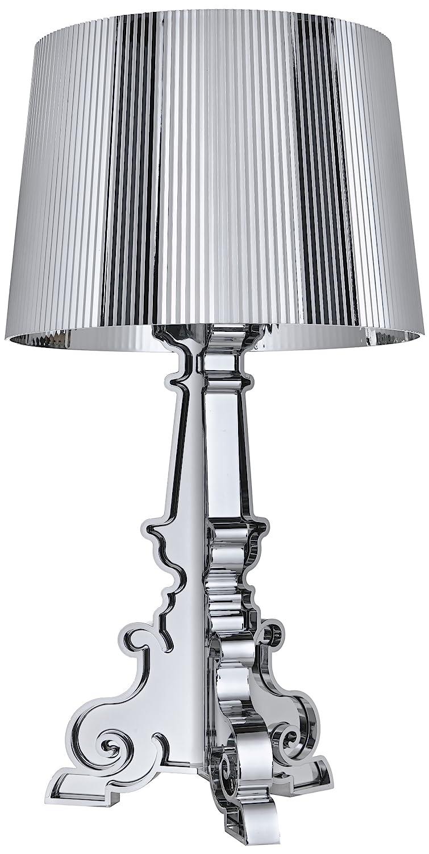 Kartell 907200 Bourgie Lampada, Colore Argento metallizzato: Amazon ...