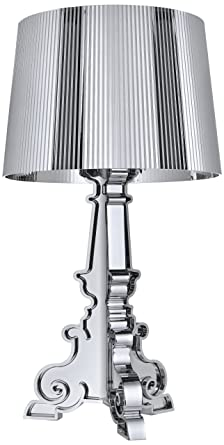 Kartell Bourgie Table Lamp By Ferruccio Laviani In All Black: Amazon.co.uk:  Lighting