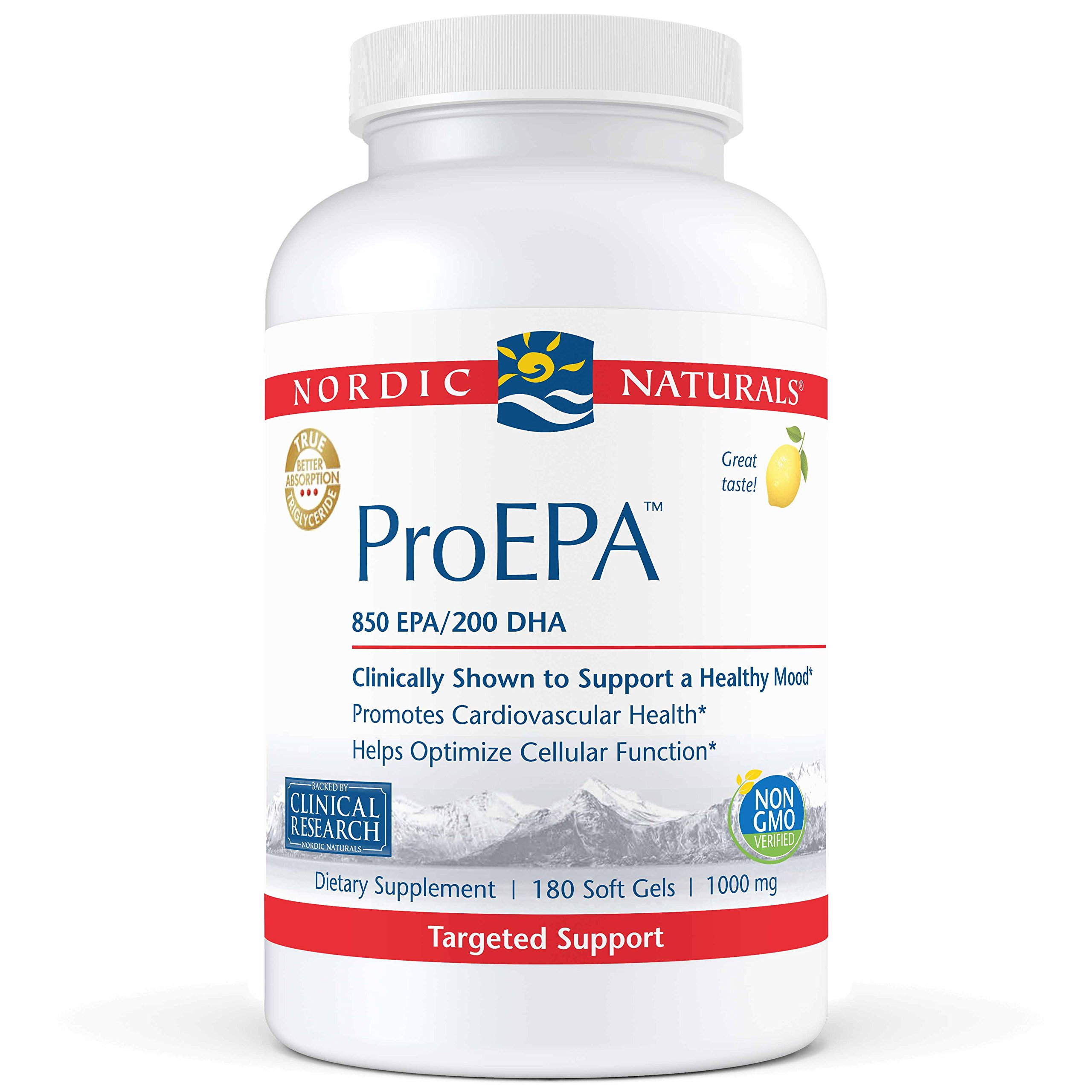 Nordic Naturals Pro - Proepa, Promotes Cardiovascular Health, 60 Count by Nordic Naturals (Image #1)