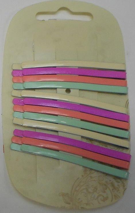 Juego de 12 pines de colores para el pelo, para rellenar ...