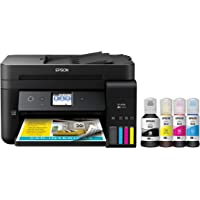 Epson Workforce ET-4750 EcoTank Wireless Color All-in-One Supertank Printer with Scanner, Copier, Fax and Ethernet Epson…