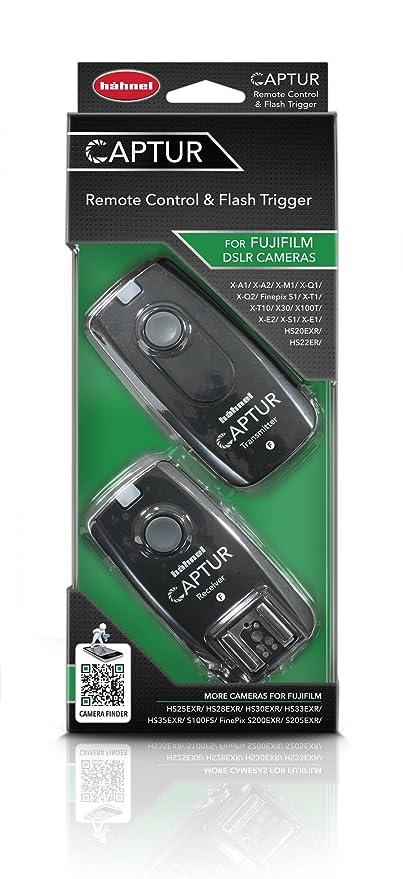 Hähnel Captur radiocámara-Disparador a Distancia, emisor y Receptor para cámaras Fuji: Amazon.es: Electrónica