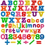 Full Set Bigger Size Magnetic Letters and Numbers for Kids Puzzles and Educational Fun- Refrigerator Magnets-68 Pieces
