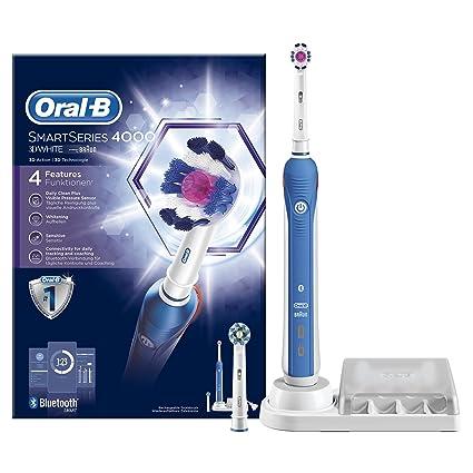 Oral-B Smart Series 4000 Cepillo de Dientes Eléctrico con Tecnología Braun 910741b378cc