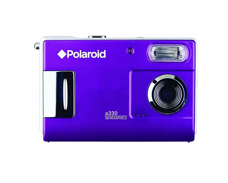 Amazon.com : Polaroid CAA-330UC 3.0 Megapixel Digital Camera with 1.5-inch  LCD Display (Plum) : Point And Shoot Digital Cameras : Camera & Photo
