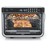 Ninja DT251 Foodi 10-in-1 Smart Air Fry Digital Countertop Convection Toaster Oven with Thermometer XL Capacity and a…