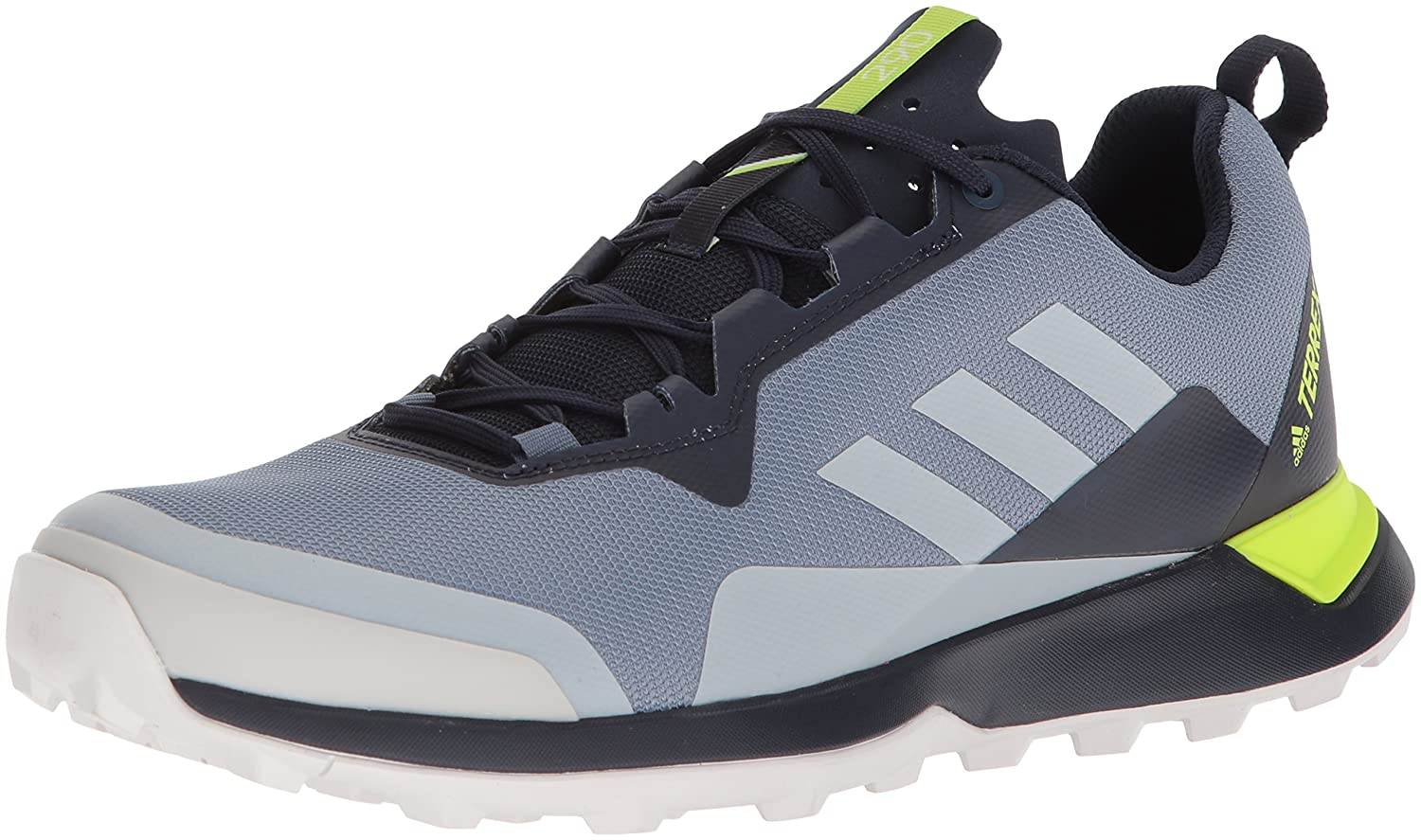 adidas outdoor Men's Terrex CMTK Walking Shoe 8.5 M US|Raw Steel/Grey One/Orange