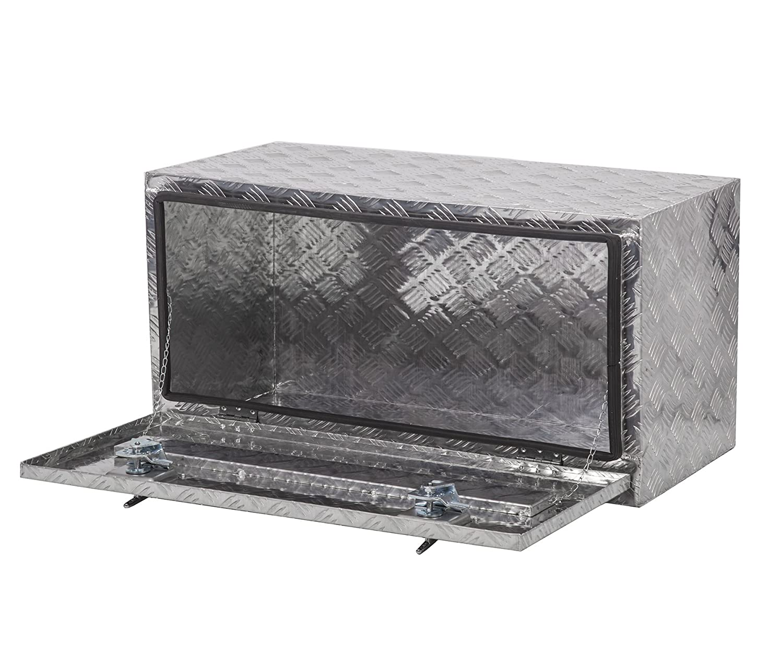 36 Aluminum Tool Box For Truck Underbody Tool Box Trailer RV Tool Storage w//Lock