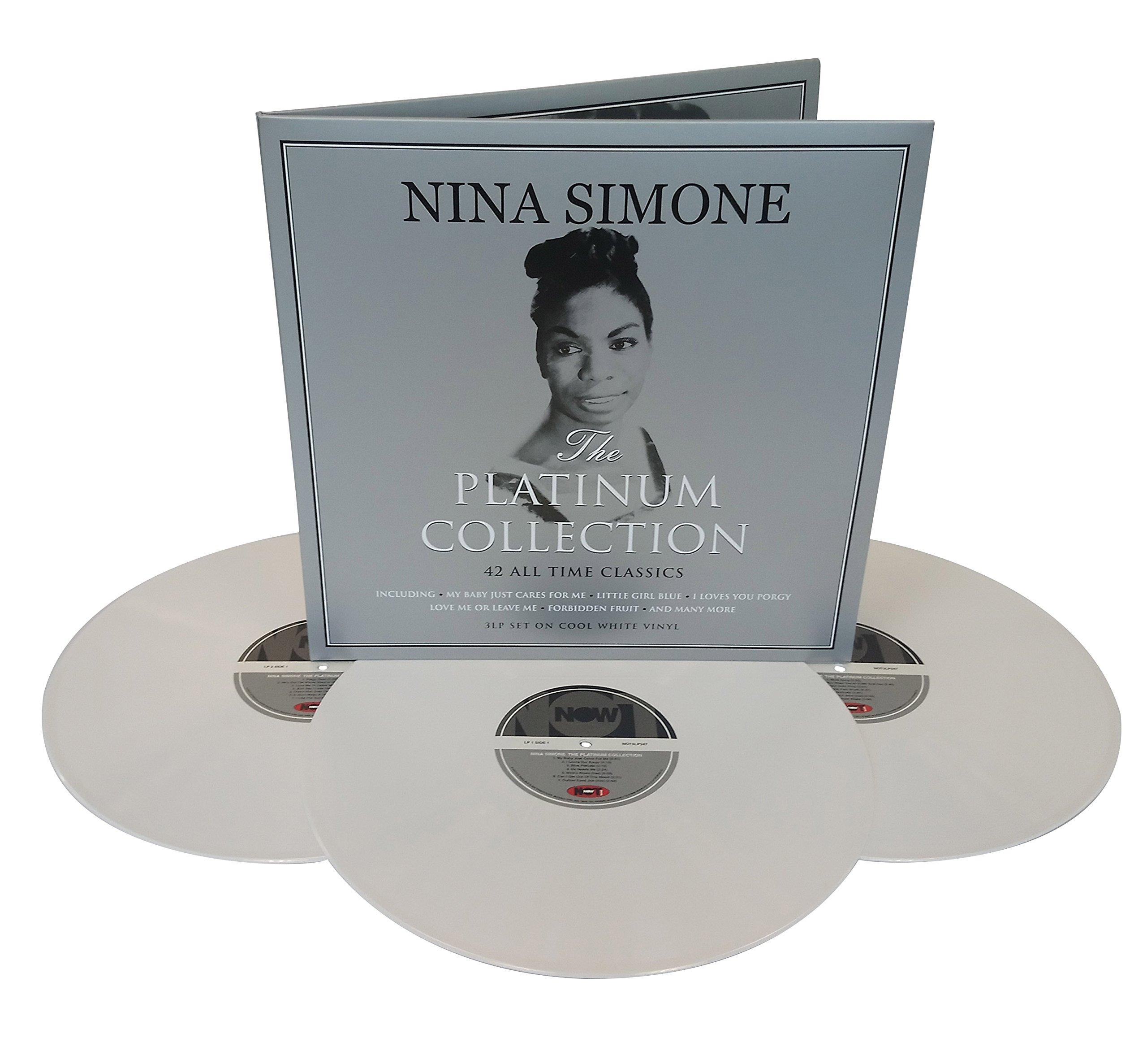 Vinilo : Nina Simone - Platinum Collection (Colored Vinyl, White, United Kingdom - Import, 3 Disc)
