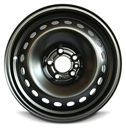 Dodge Dart Tire Size >> Road Ready Car Wheel For 2013 2016 Dodge Dart 16 Inch 5 Lug Black Steel Rim Fits R16 Tire Exact Oem Replacement Full Size Spare